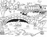 Coloring Train Thomas Henry Engine Drawing Printable Tank Cartoon Friends Boys Tunnel Sheets Easter Maglev Colouring Games Trains Huggins Diesel sketch template