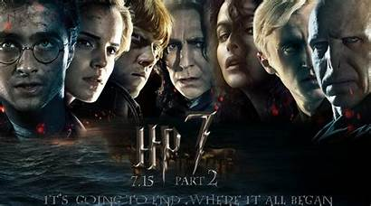 Deathly Hallows Potter Harry Desktop Wallpapers Poster
