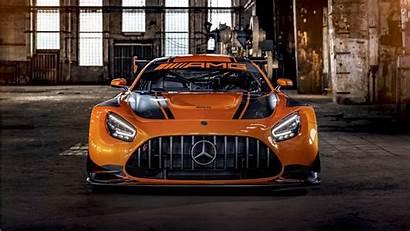 4k Amg Mercedes Gt3 Wallpapers Orange 1080
