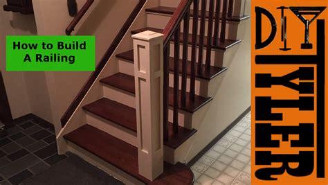 Build A Staircase Railing
