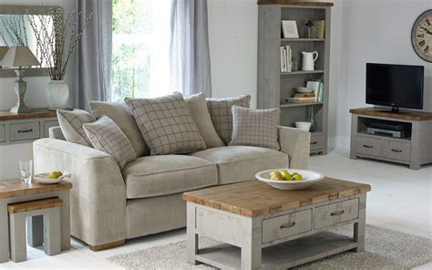 the clermont painted sawn solid oak range at oak furniture land