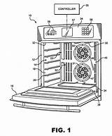 Oven Drawings Convection Coloring Template Drawing Sketch Dual Fan Patentler Resimler sketch template