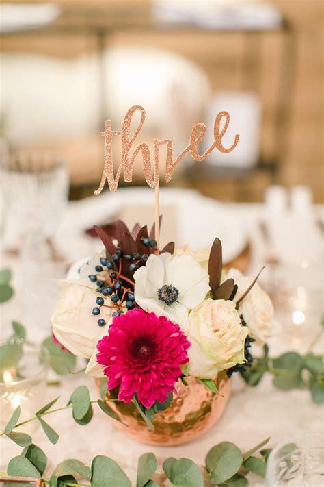 Blumen Hochzeit Dekorationsideenrosen Hochzeit Dekoration by Dekoration Tischdeko Kupfer Rustikal Hochzeit