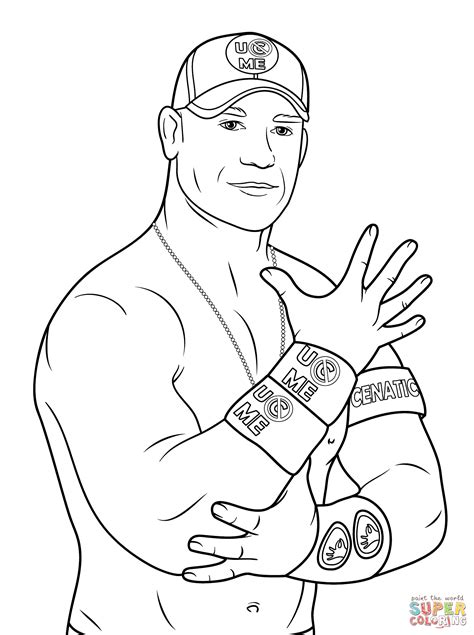 Randy Orton Coloring Pages at GetColorings.com | Free printable colorings pages to print and color