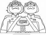 Colorare Disney Crick Watson Miles Colorear Futuro Dibujos Junior Dal Kolorowanki Disegni Stampare Colorir Desenho Animados Disegno Przyszlosci Coloring Vampirina sketch template