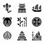China Symbols Asia Packs Icons Icon Vector