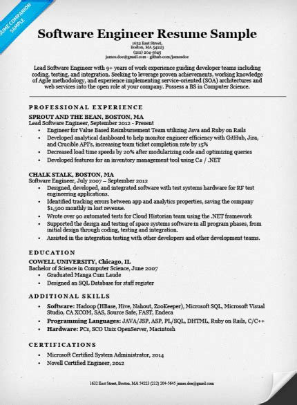 java ui developer sample resume     blog
