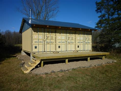 tin  cabin  shipping container tiny home