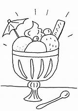 Eisbecher Colorear Dibujos Helado Dibujo Zum Ausmalen Imprimir Helados Copa Pintar Eis Ausdrucken Menschen Coloriage Glace Malvorlage Malvorlagen Coloring Dibujosparapintar sketch template