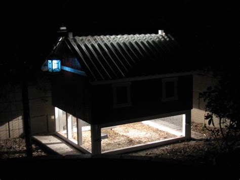 chicken coop solar light the smart chicken coop