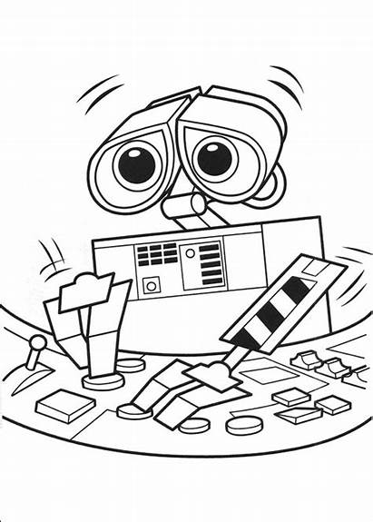 Wall Walle Coloring Pages