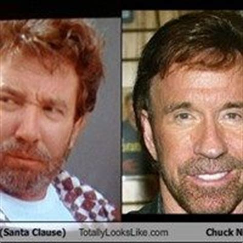 chuck norris looks like tim allen tim allen in the santa clause totally looks like chuck