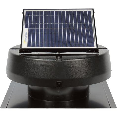 us sunlight solar attic fan product u s sunlight solar powered attic fan 15w