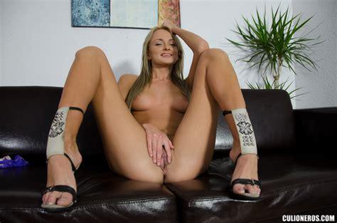 Blonde Milf In High Heels Swallows Cock And XXX Dessert