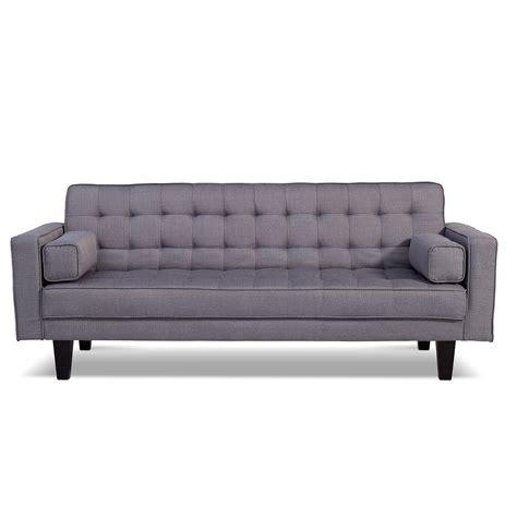 value city futon value city does it in gray futon sofa bed