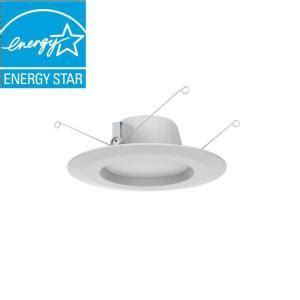commercial electric 5 inch recessed lighting commercial electric 5 in and 6 in white integrated led