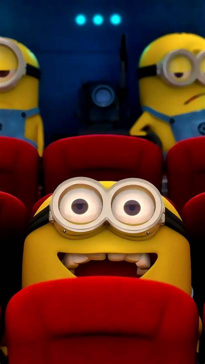 Despicable Minion Minions Cartoon Bob Backgrounds Yellow