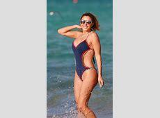 Larsa Pippen In swimsuit at the beach in Miami Celebzz
