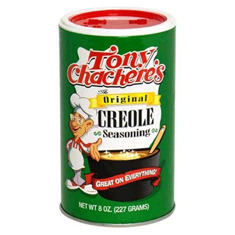 creole seasoning tony chachere s creole seasoning 8 ounce shakers