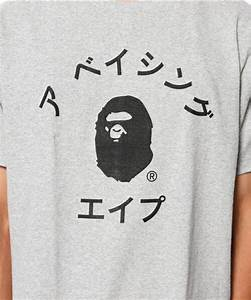 bape japanese letter t shirt teenamycs With japanese letter shirt
