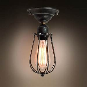 Westmenlights vintage small ceiling light flush mount