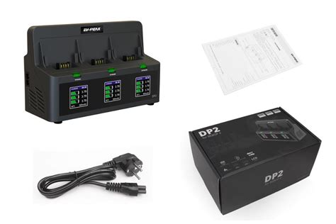 ev peak dp wch ach  ports intelligent battery charger  parrot bebop  drone battery