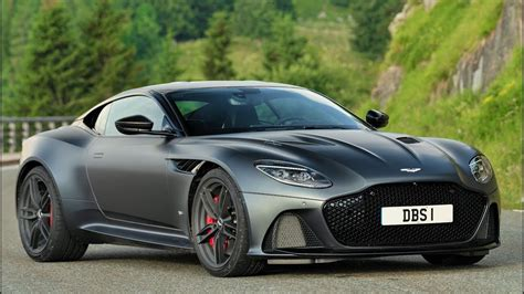 2019 grey aston martin dbs superleggera awesome super gt