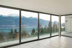 Baie Vitrée Coulissante Alu : prix baie vitr e aluminium budget ~ Melissatoandfro.com Idées de Décoration
