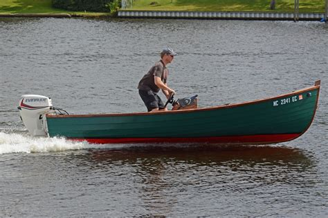 Skiff Boat Small by A Lapstrake Jericho Bay Lobster Skiff Small Boats Monthly
