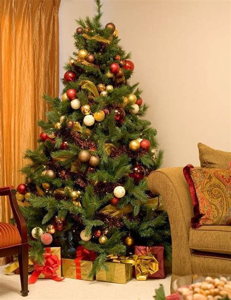 where to place the christmas tree at home