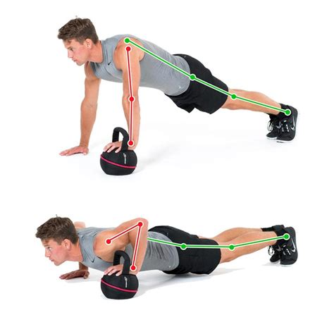 kettlebell push ups hand workout arm exercise workouts beginner chest kettlebells exercises core gymbox
