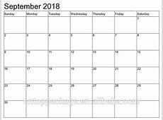 September 2018 Monthlyweekly Wall Planner Calendar Buy