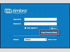 Did You Know? Password Reset in Zimbra 889 Zimbra Blog