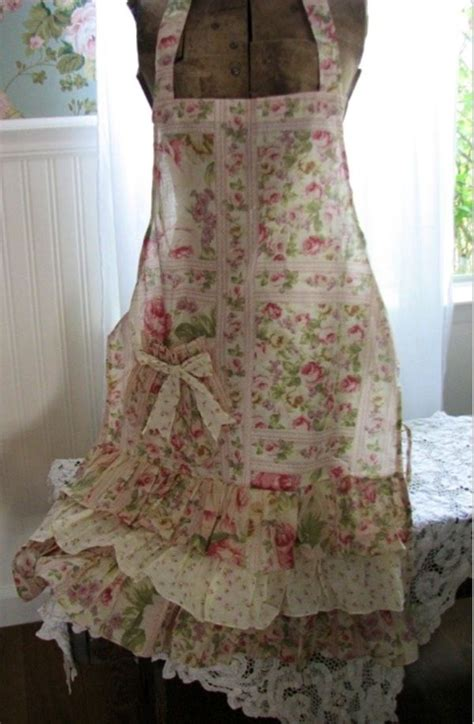 pretty apron shabby chic rustic decor apron sewing ideas and craft