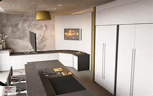 Moderne Küche Mit Kochinsel Und Theke : raumausstattung bilder ideen couchstyle ~ Bigdaddyawards.com Haus und Dekorationen