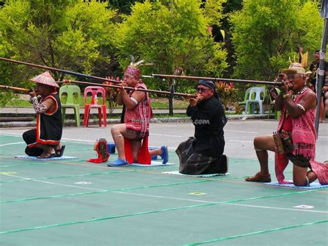 kuching blowpipe carnival event traditional tattoo expo