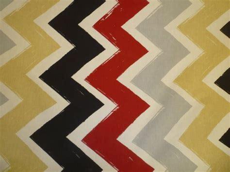 zig zag cotton chevron fabric grey beige black white funky uk fabric per metre 39 quot x 56