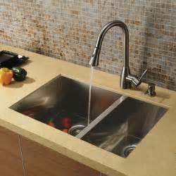 sink faucets kitchen vigo undermount stainless steel kitchen sink faucet and