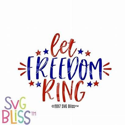 Freedom Let Ring Svg Clip Silhouette