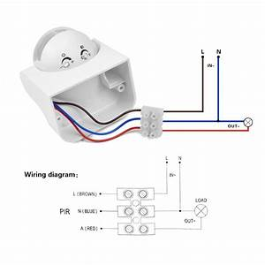 Outdoor Motion Security Light Wiring Diagram Wiring