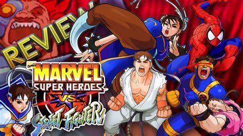 Marvel Super Heroes Vs Street Fighter Review Do