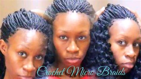 Micro Braids Using Crochet Hair