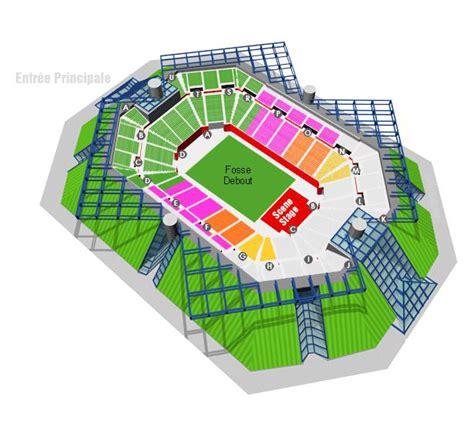 plan de salle bercy plan du palais omnisport bercy r 233 solu