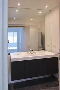 vasque salle de bain design et meuble en chene teinte With vasque de salle de bain design