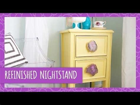 Refinish Nightstand by Diy Refinished Nightstand Hgtv Handmade