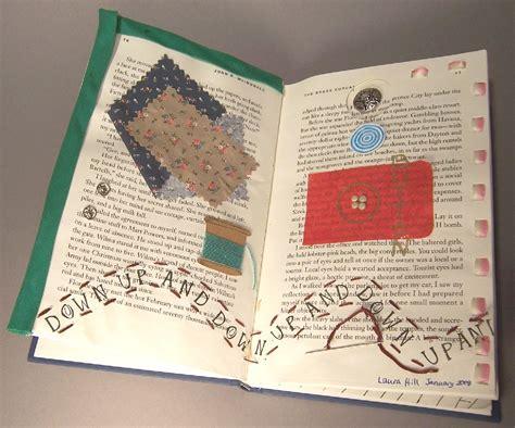 flint public library  host altered books workshop