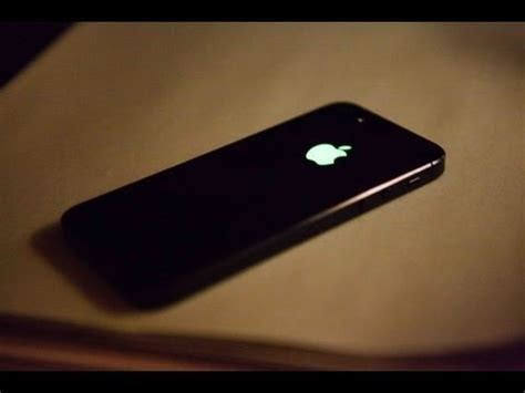 how to make the apple symbol on iphone how to make the apple logo on your iphone light up like a How T