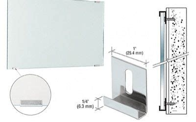 How To Install A Frameless Bathroom Mirror by Wall Mirror Installation Search Design L