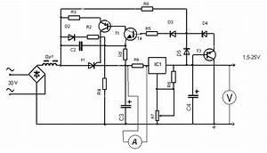 15v 25v power supply with preregulator power supply With variable 4 a 25v power supply