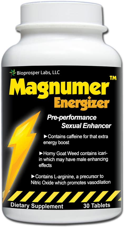 magnumer energizer pre performance male enhancement dr